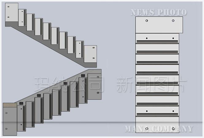 预制钢混组合楼梯的优点及分类