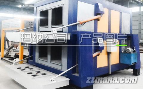 方孔混凝土条式墙板生产线